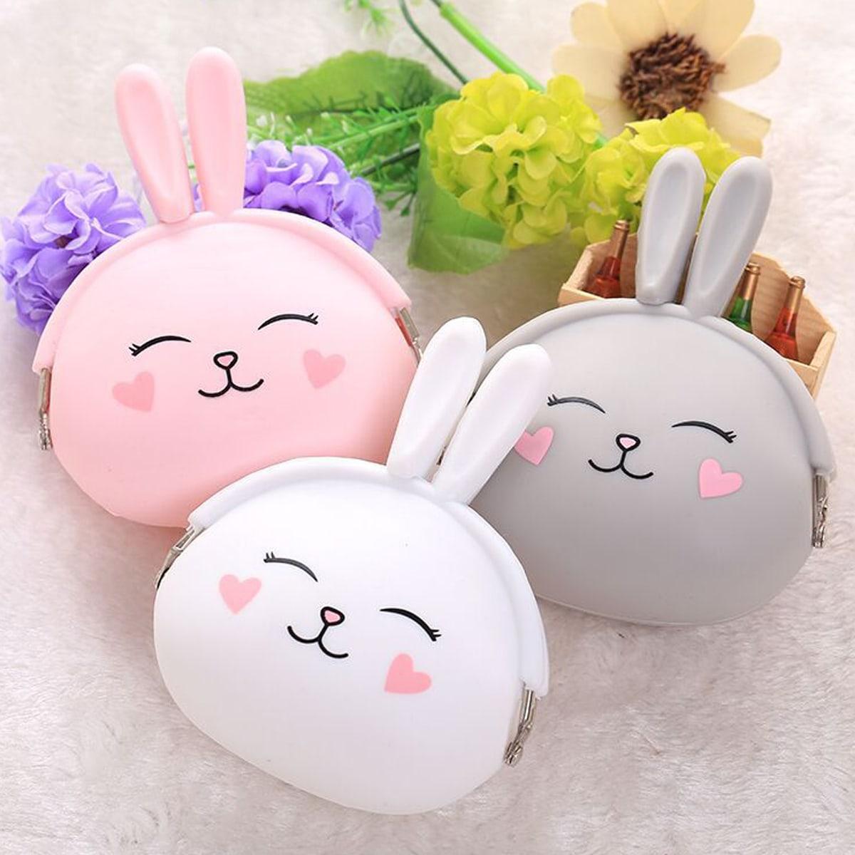 1pc Cartoon Rabbit Design Storage Box