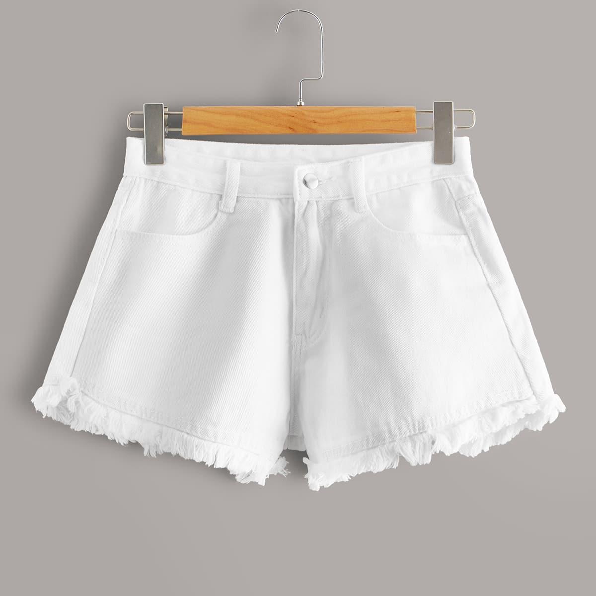 Однотонные шорты размера плюс фото