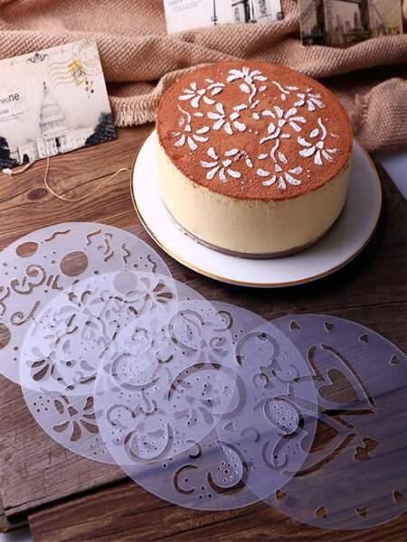 4pcs Cake Spray Mold