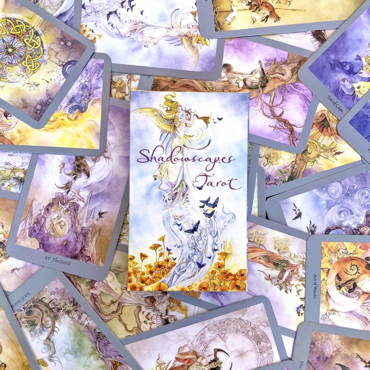 1 doos Figuur Grafische Tarotkaart
