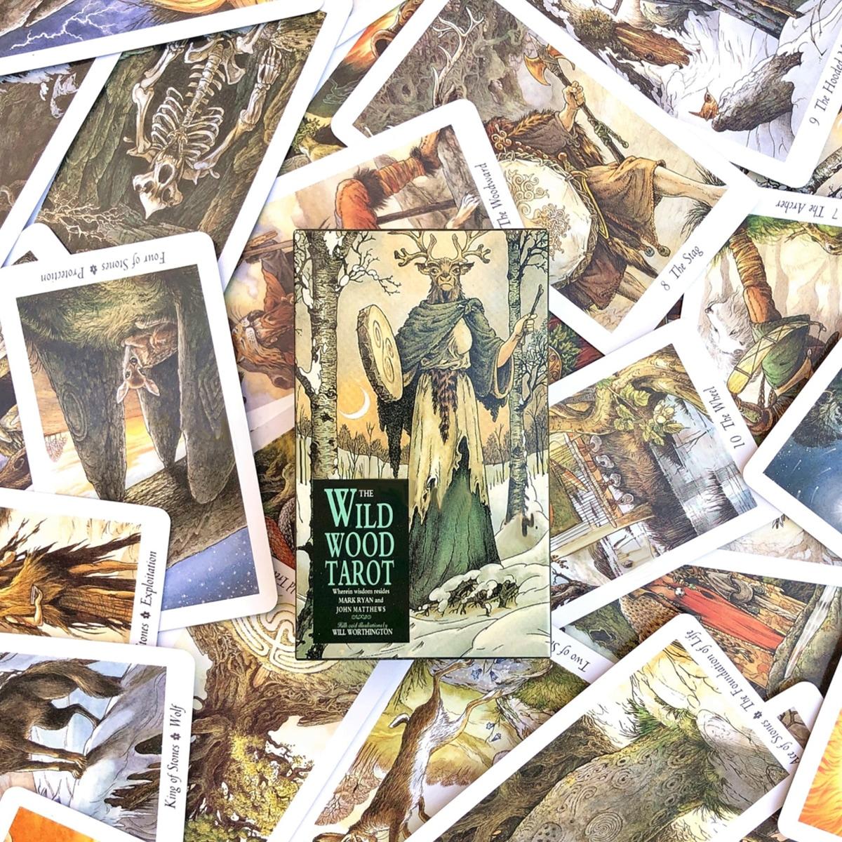 1 doos Tarotkaart met dierenprint