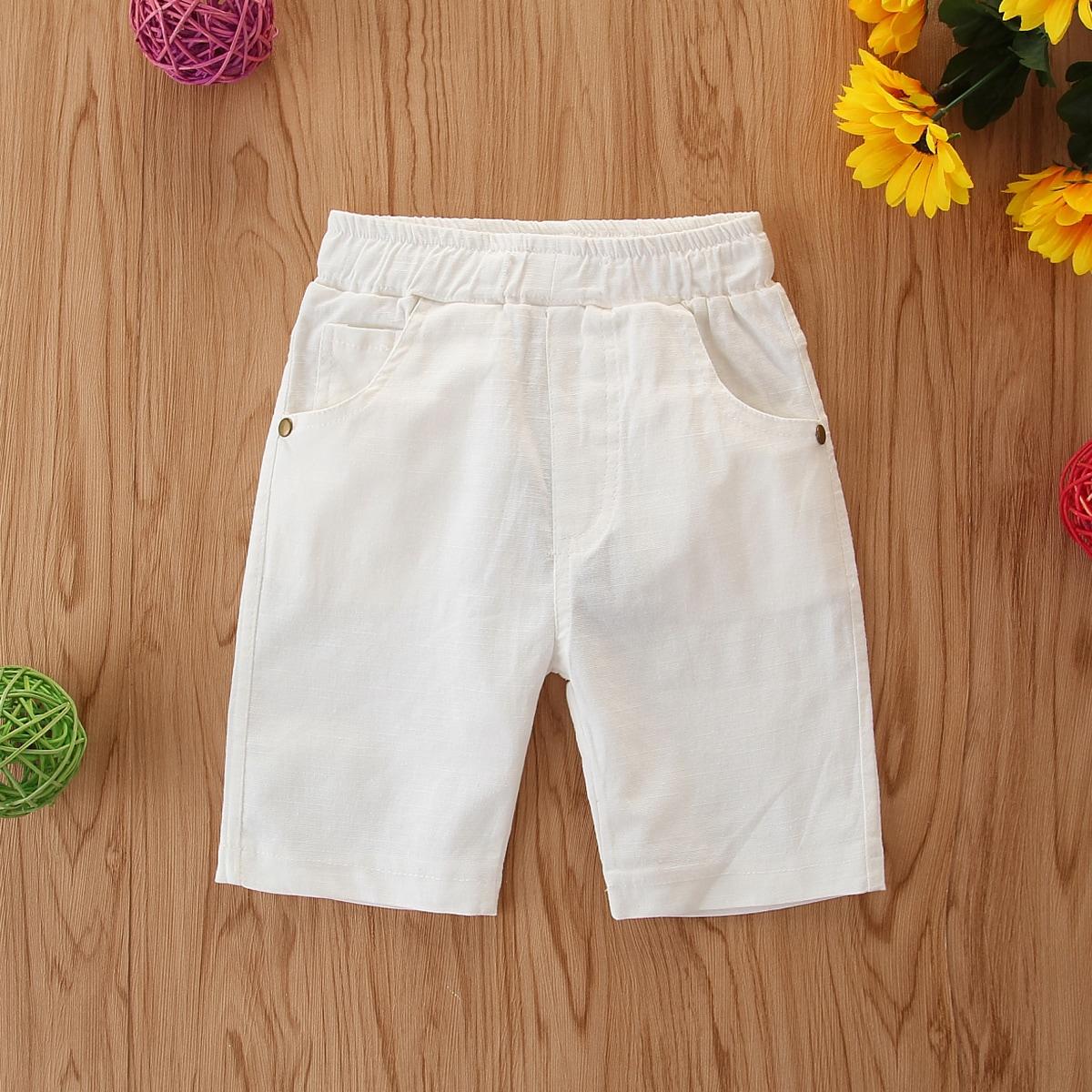 Прямые шорты с карманом для мальчиков