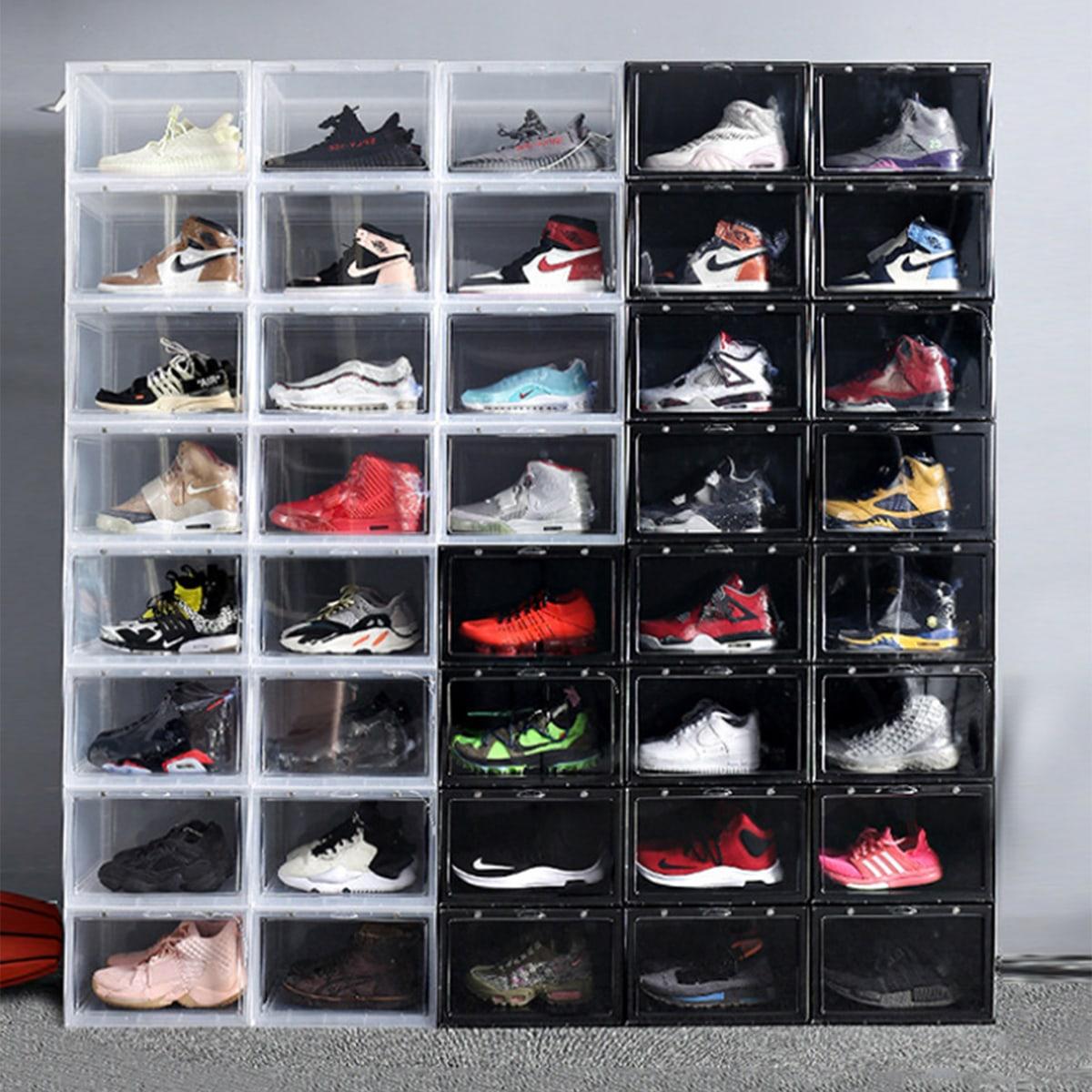 1pc stevige rechthoek schoenen opbergdoos