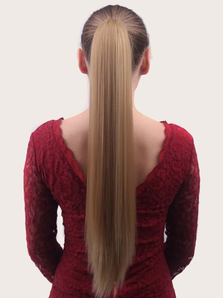 Long Straight Ponytail Wig