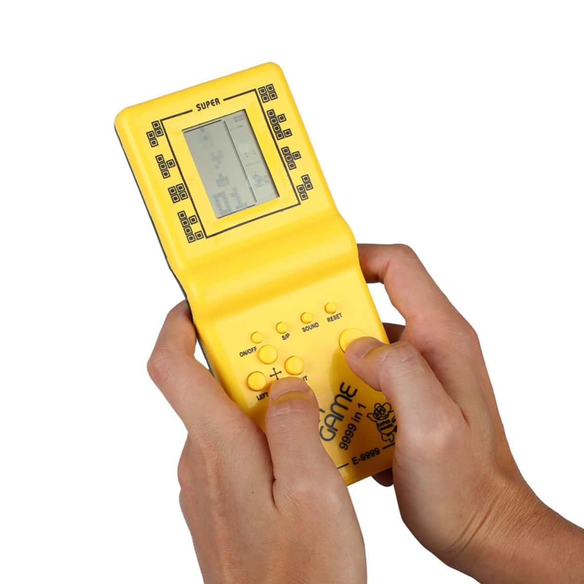 1pc willekeurige kleur Tetris Game Console