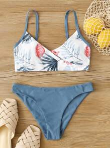 Tropical | Swimsuit | Cheeky | Bikini | Wrap