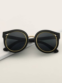 Sunglass   Acrylic   Frame   Eye   Cat