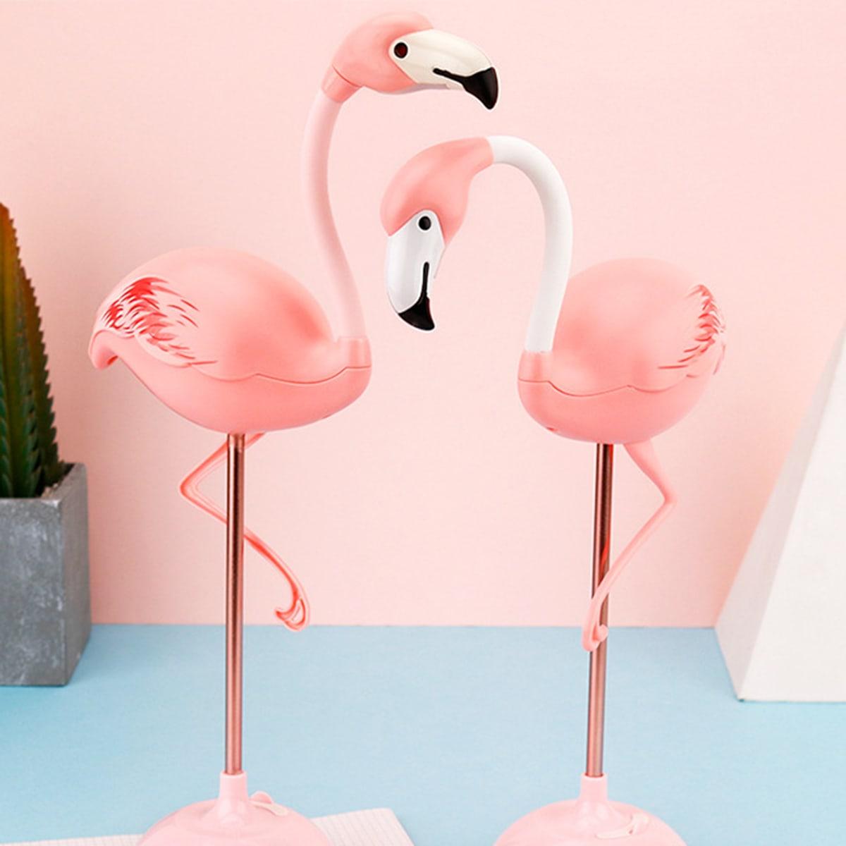 Flamingo-vormig nachtlampje