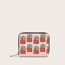 French Fries Print Purse (swbag03200326312) photo