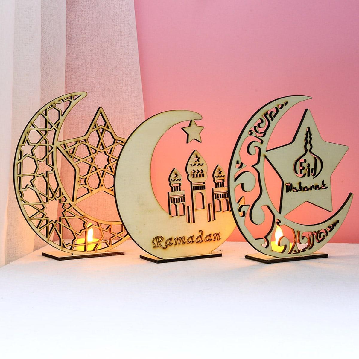 1pc Ramadan Moon Night Light