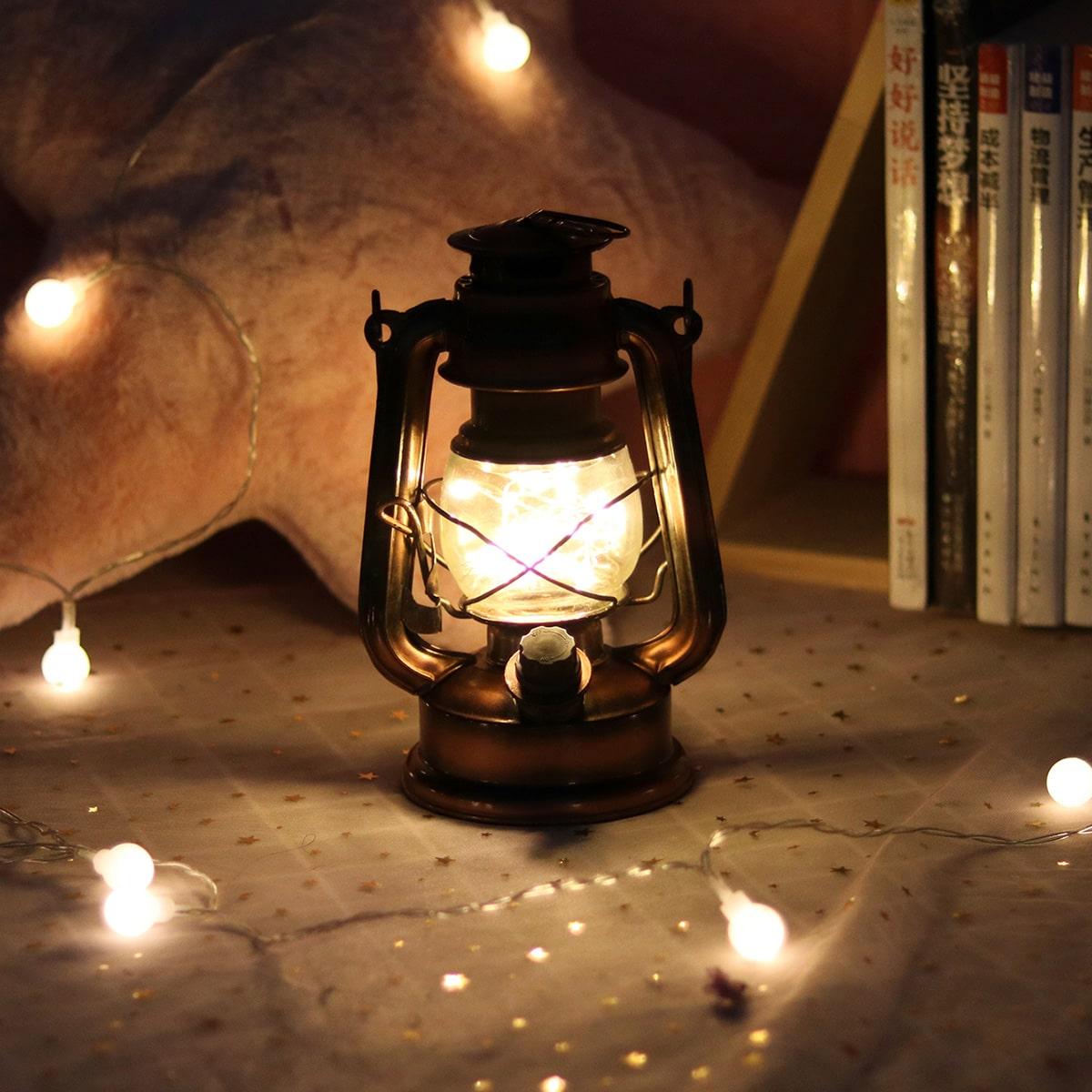 Draagbaar ijzeren nachtlampje