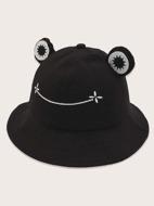 Cartoon Frog Design Bucket Hat