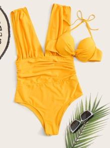 Underwire | Swimsuit | Ruched | Bikini