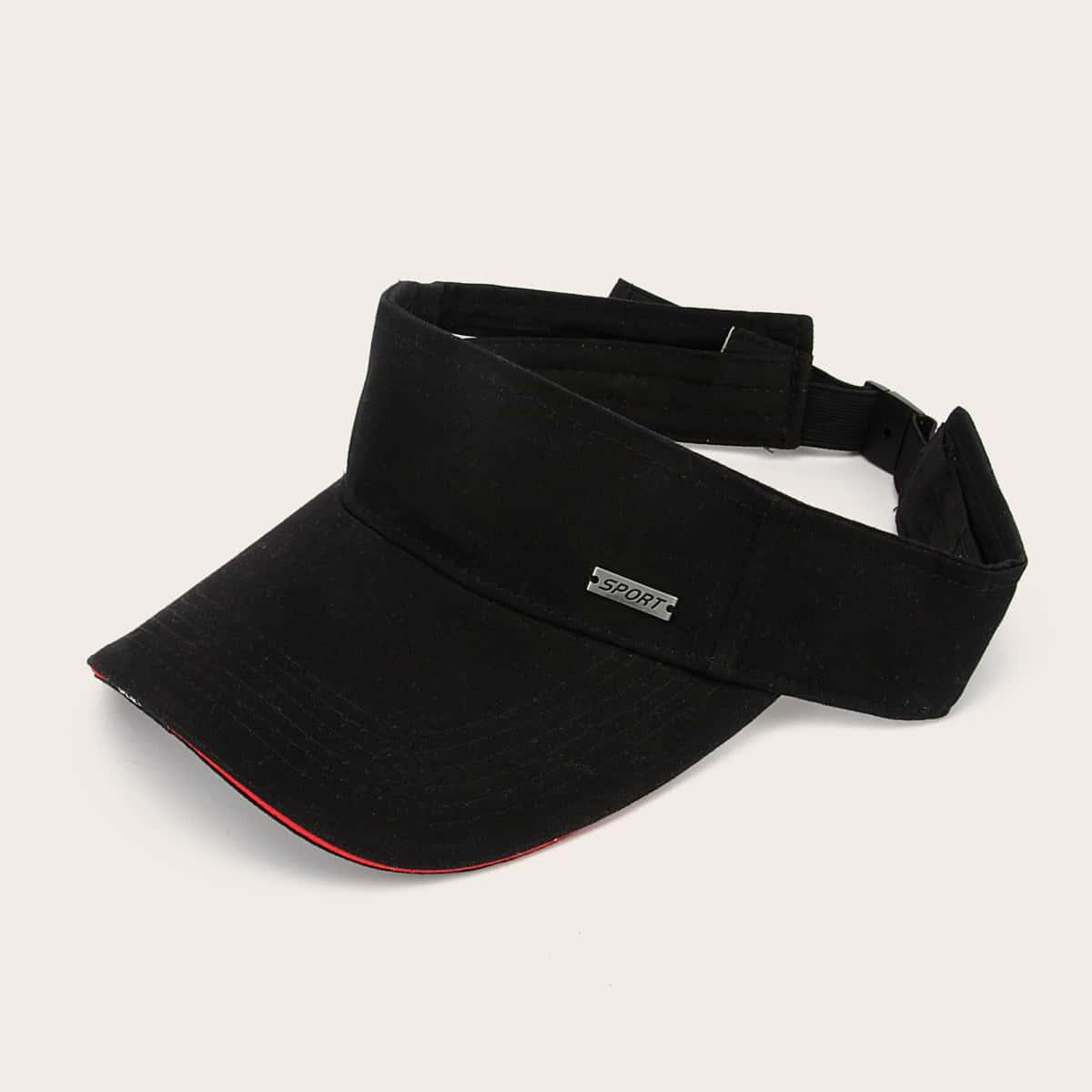 Мужская шляпа козырька с контрастной отделкой от SHEIN