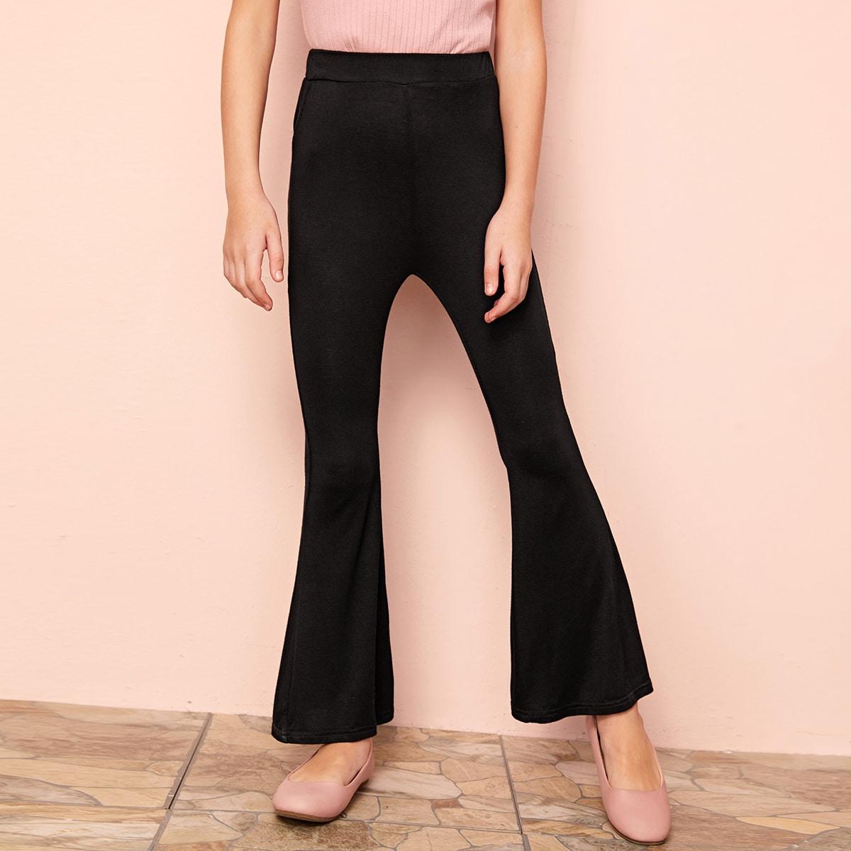 Расклешенные брюки для девочек от SHEIN