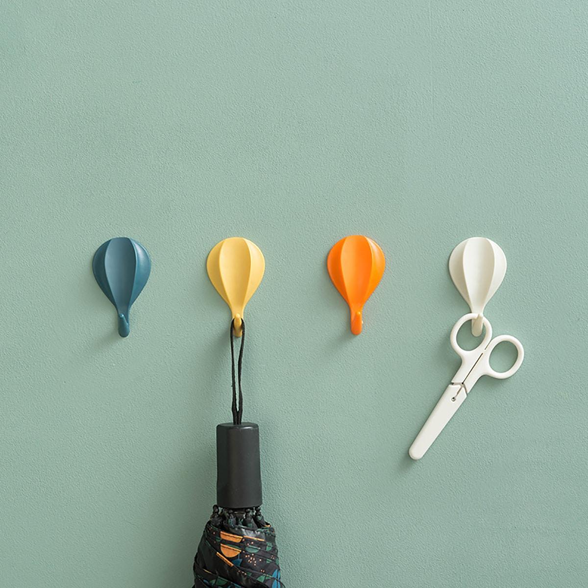 Настенный крюк в форме воздушного шара 8шт