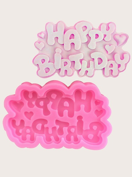 1pc Birthday Random Baking Mold