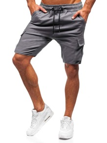 Drawstring | Cargo | Short | Flap | Men