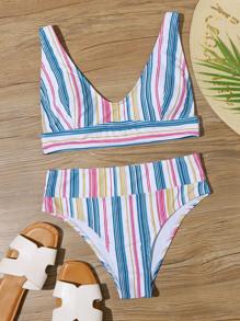 Swimsuit | Bikini | Stripe | Print