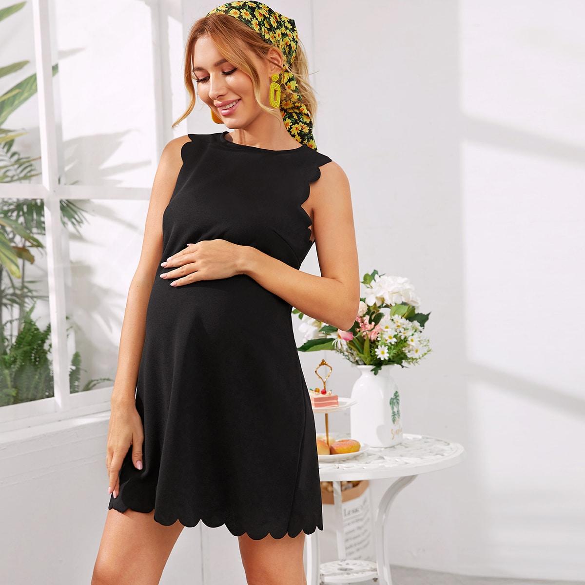Maternity Платье с оригинальной отделкой от SHEIN