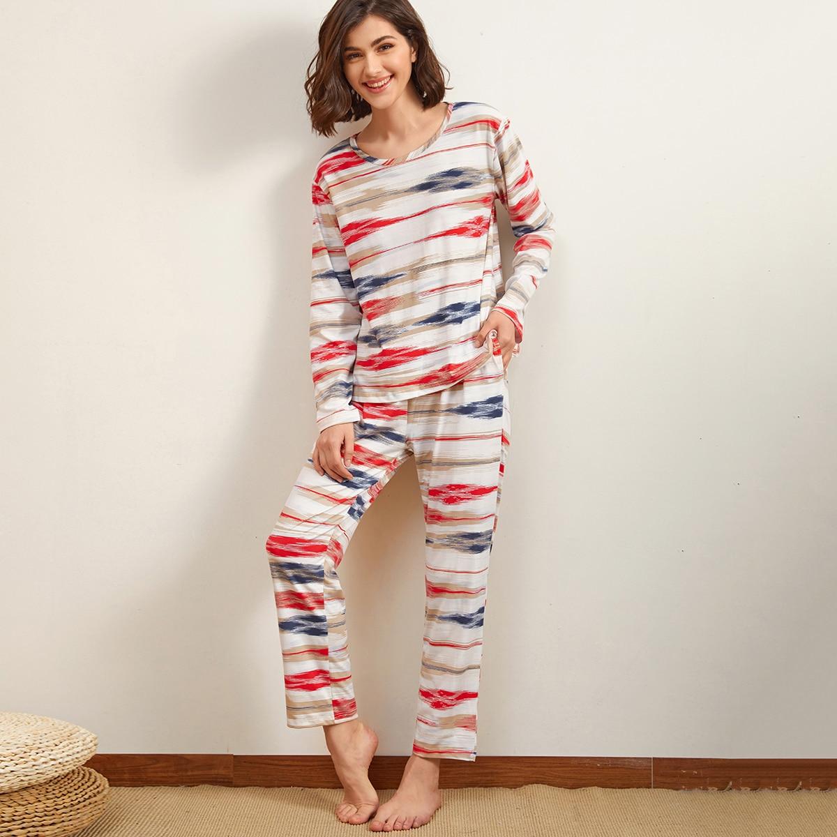 Пижама с принтом фото