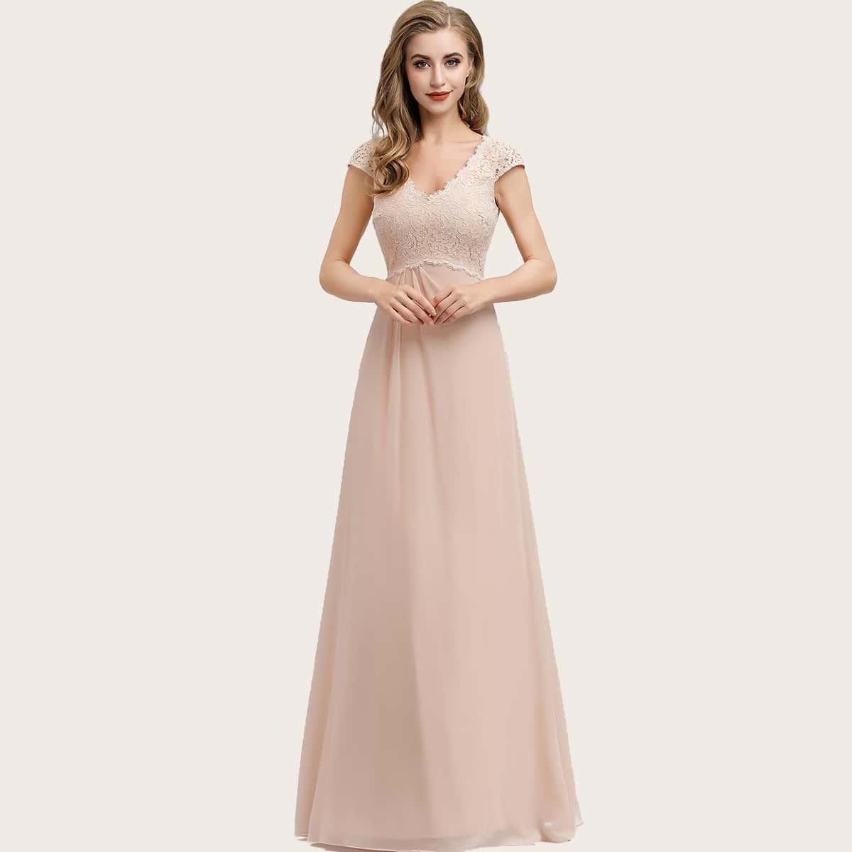 EverPretty Кружевное платье с молнией сзади фото