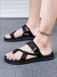 Velcro   Sandal   Strap   Post   Toe   Men
