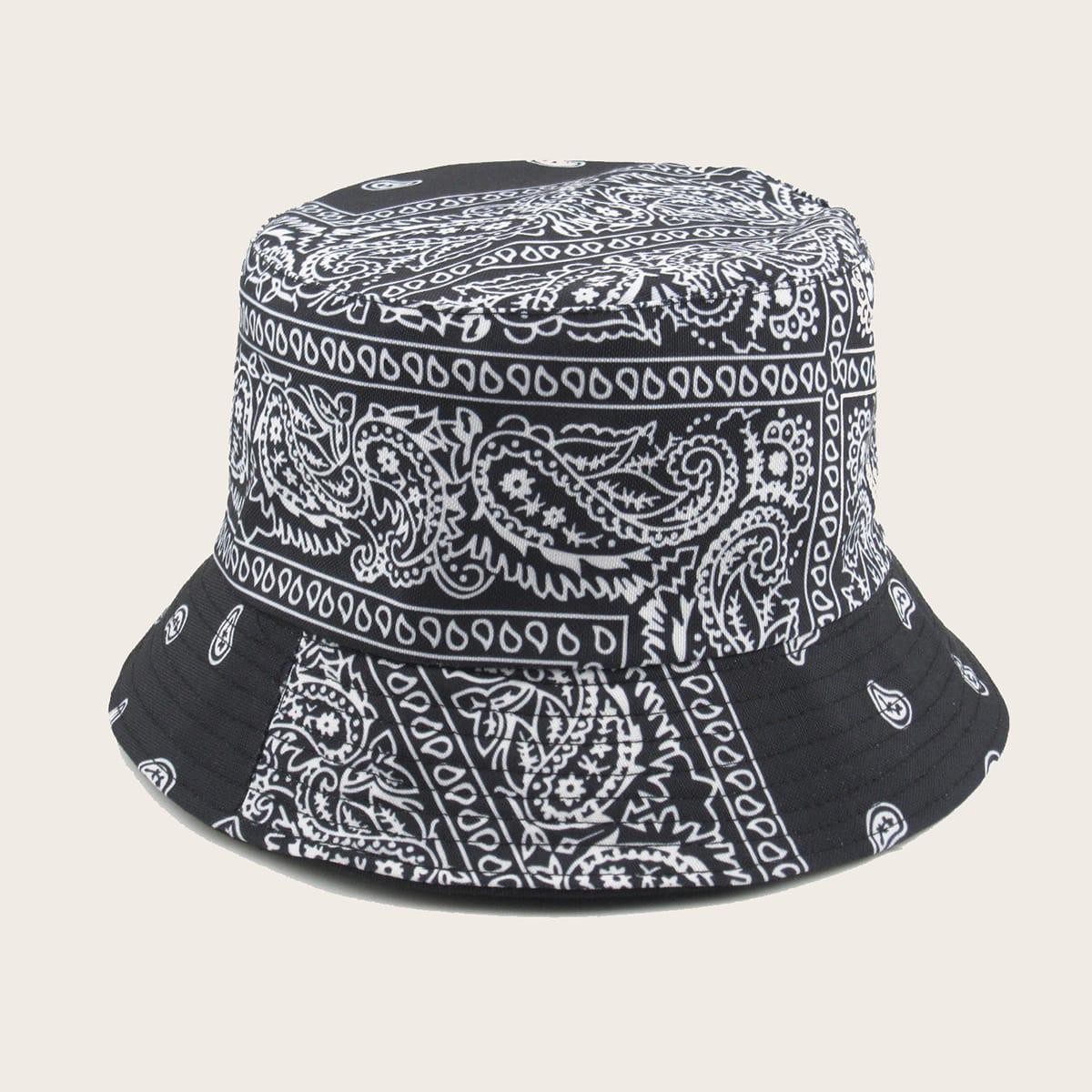 Мужские шляпа пейсли от SHEIN