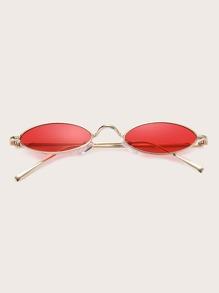 Sunglass   Frame   Oval   Men