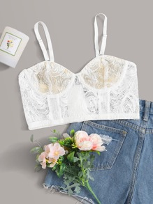 Underwire | Floral | Lace