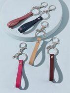 5pcs PU Leather Keychain