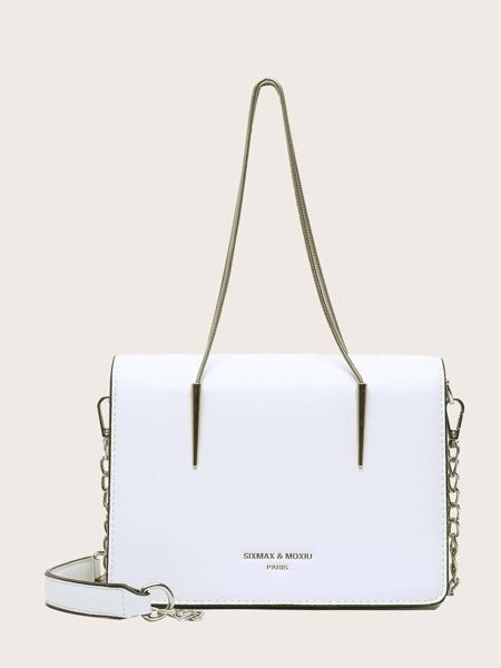 Flap Tote Bag