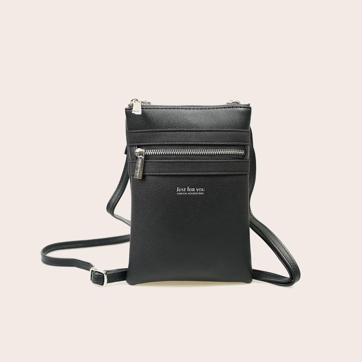 Передняя сумка через плечо на молнии фото