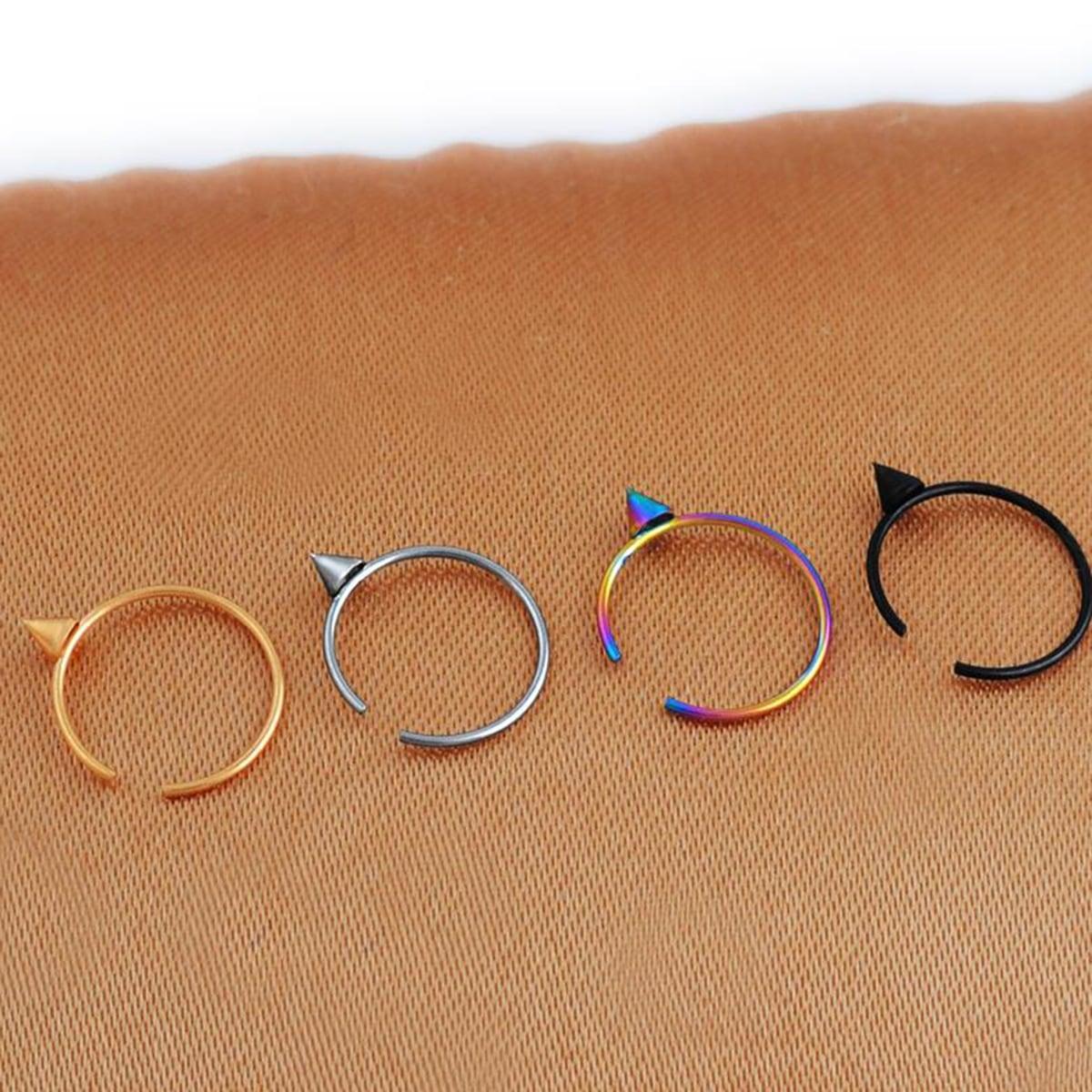 Мужское кольцо с носиком 4шт фото