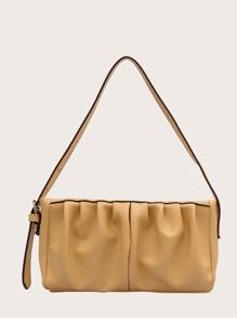 Ruched   Tote   Bag