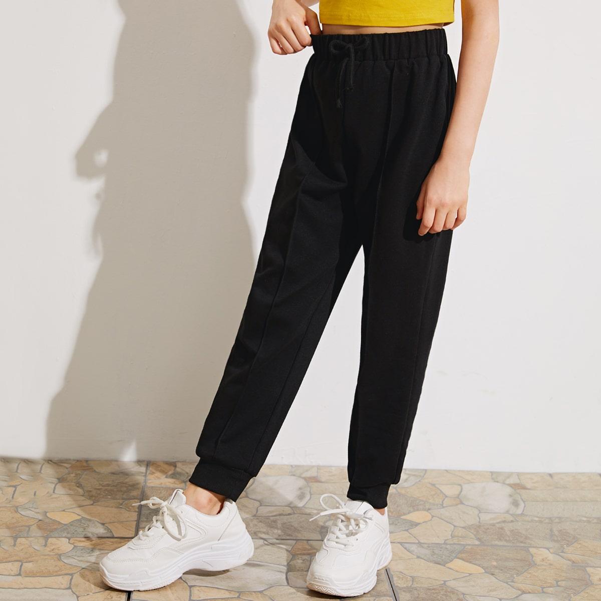 Спортивные брюки для девочек от SHEIN