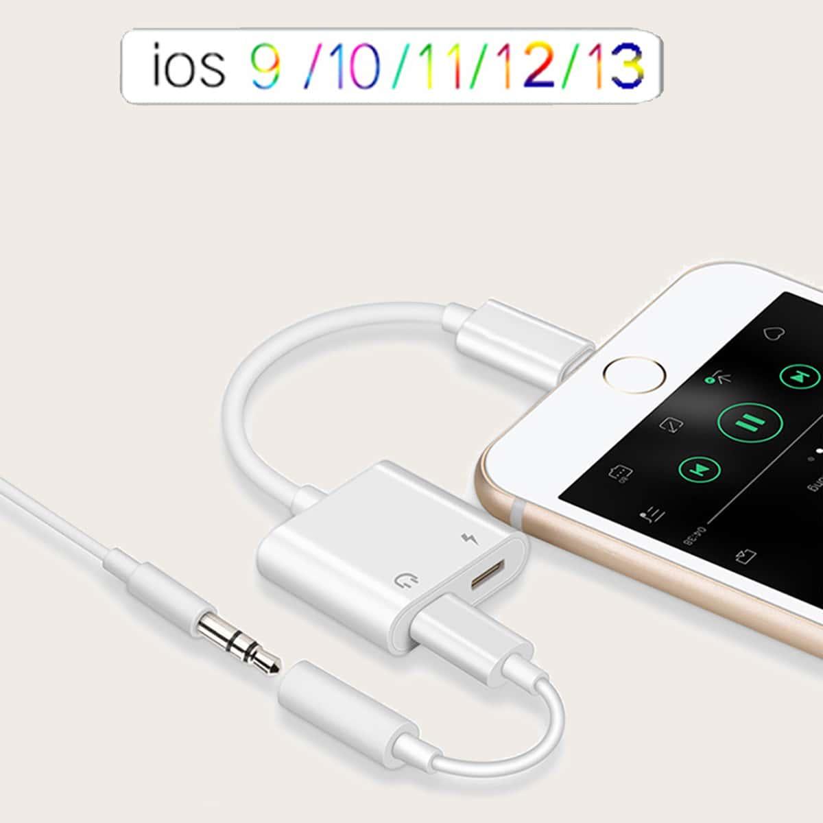 SHEIN / IPhone einfarbige USB Konverter