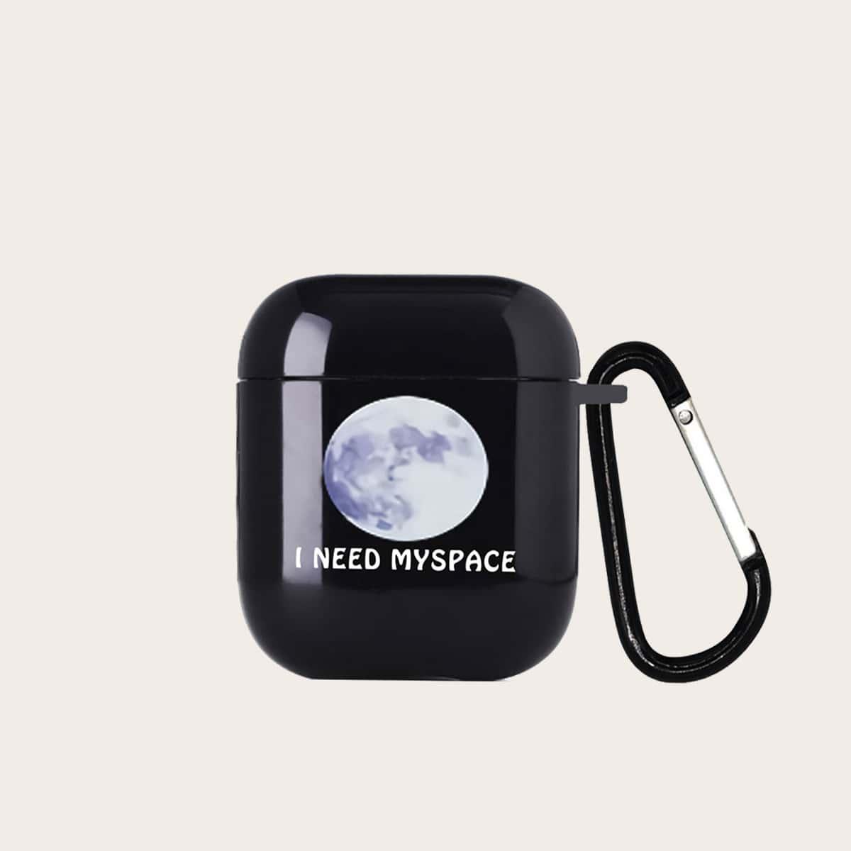 SHEIN / Airpods Hülle mit Mond Muster