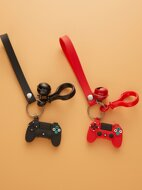 2pcs Game Console Charm Keychain