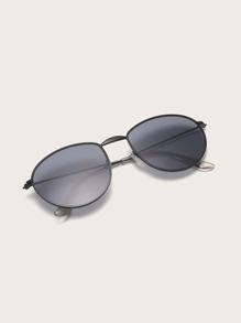 Sunglass | Frame | Oval | Men