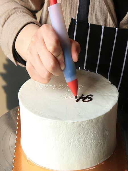 1pc Baking Decorating Pen & 4pcs Piping Nozzle