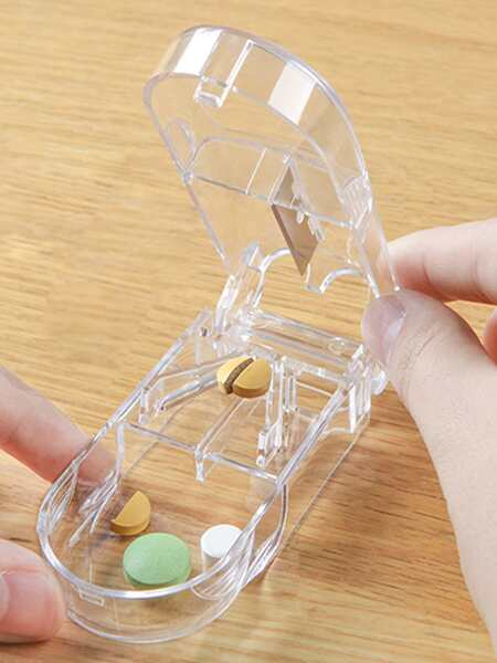 Clear Pill Storage Box