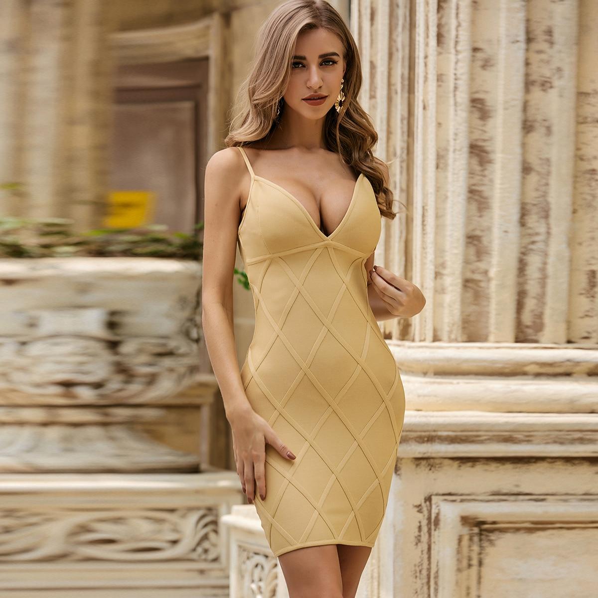 Sesidy Облегающее платье с молнией сзади фото