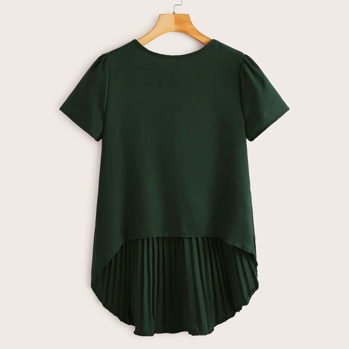 Асимметричная блузка фото