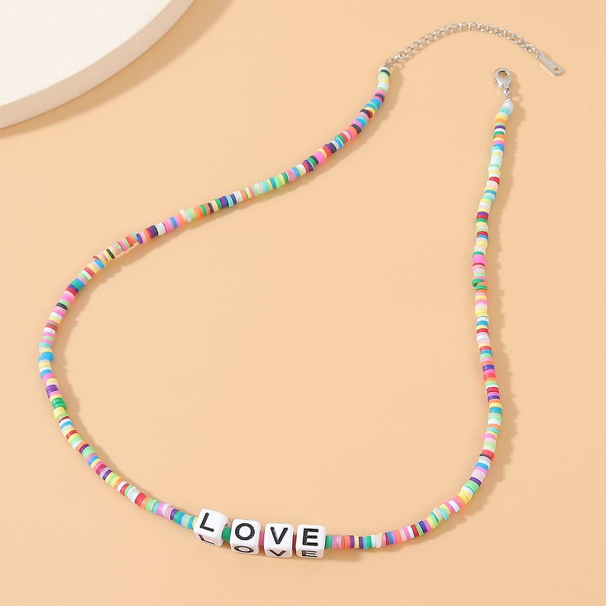 Ожерелье из бисера фото