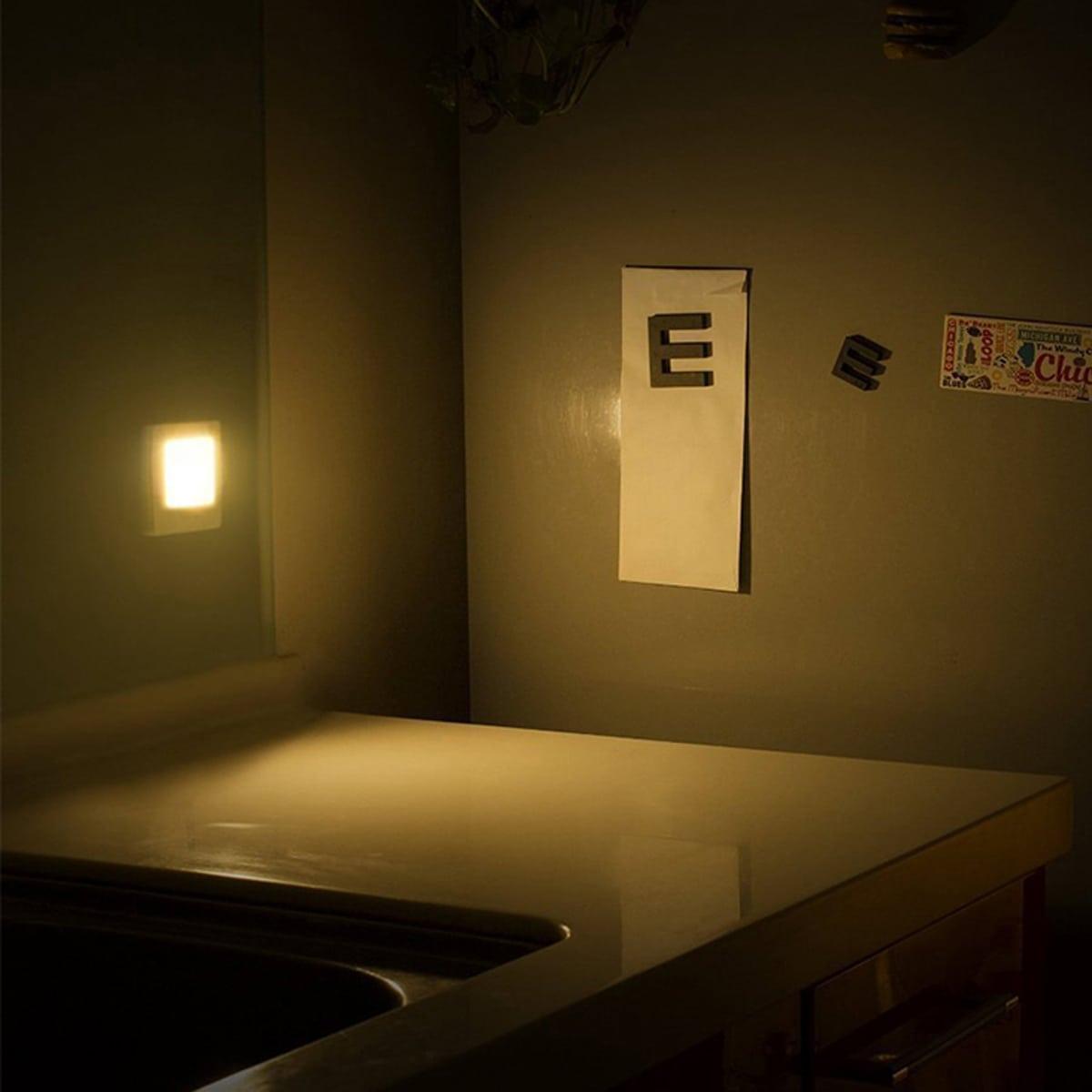 1шт квадратный настенный свет индукции тела фото