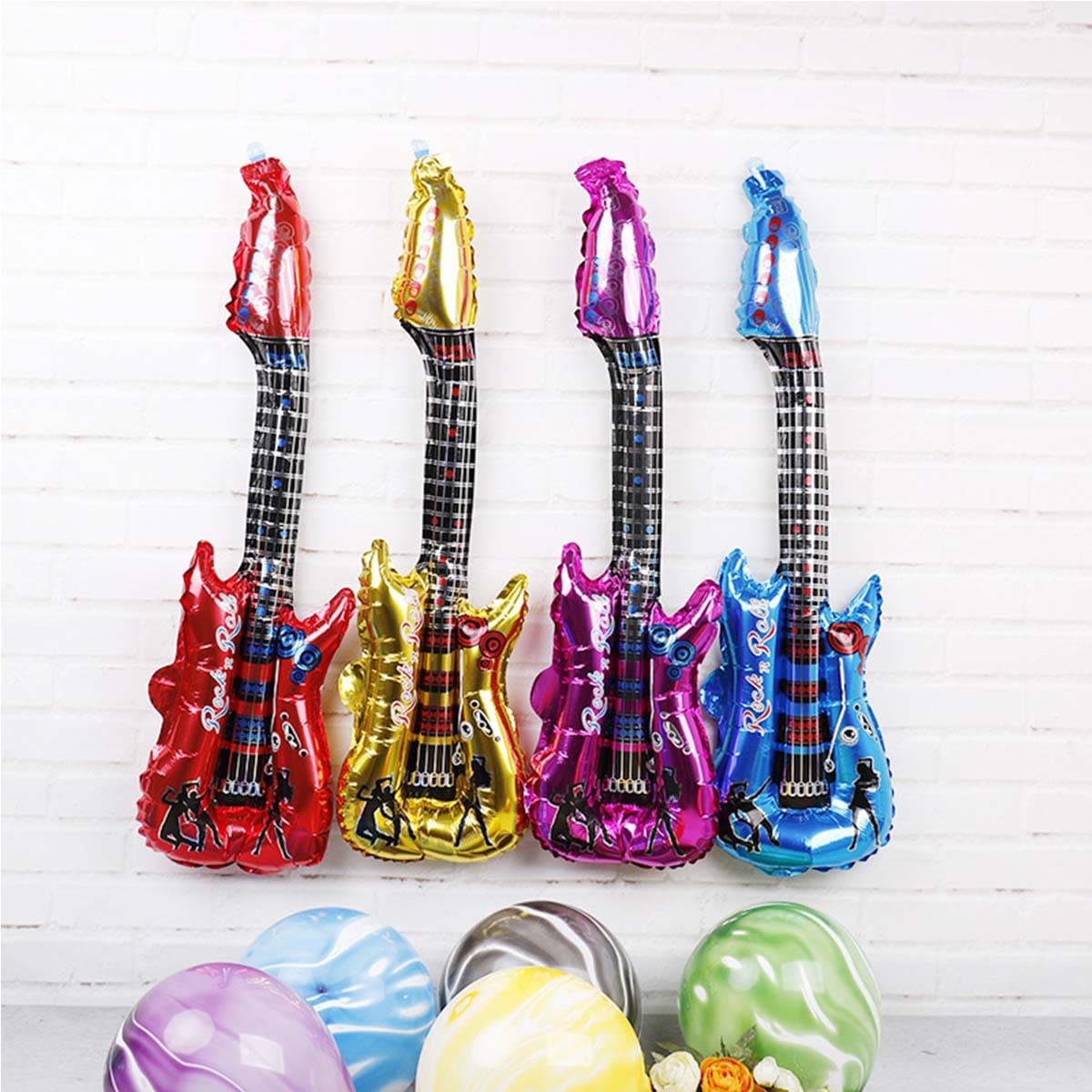 1шт баллон в форме гитары фото