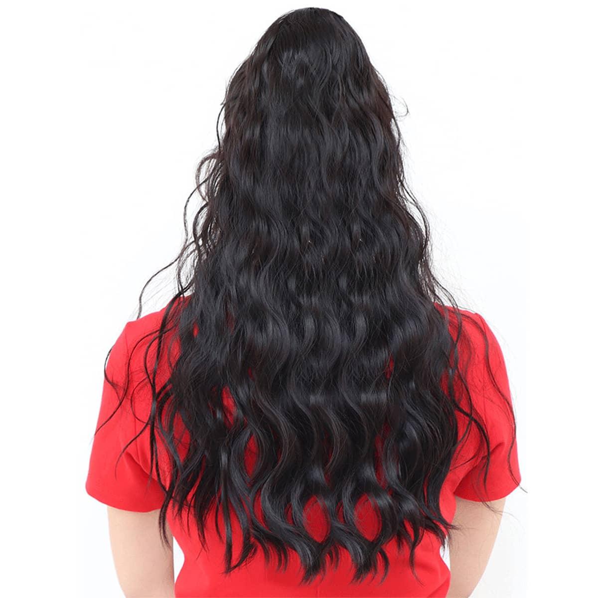Натуральные длинные вьющиеся волосы фото