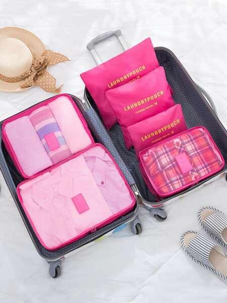 6pcs Travel Storage Bag