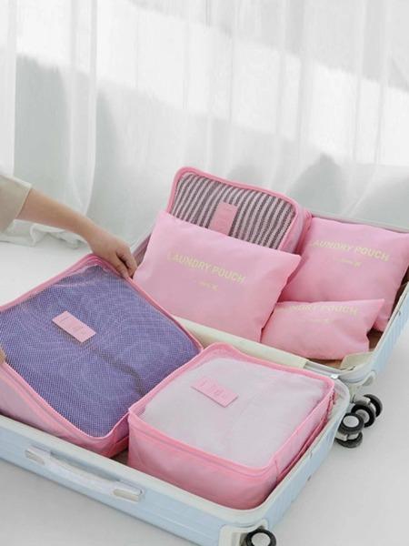 6pcs Portable Travel Storage Bag